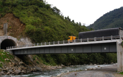Carretera Baños – Puyo – Tramo Ulba – Río Negro